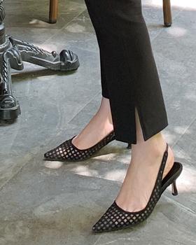 短剑露脚后跟鞋